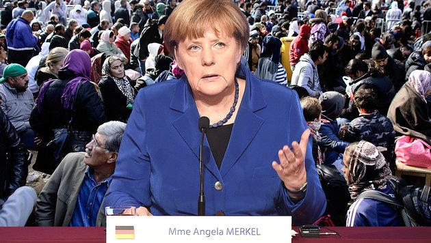 Berlin erwartet bis zu 1,5 Millionen Flüchtlinge (Bild: AFP, AP)
