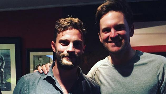 Bernd Wiesberger und Jamie Dornan (Bild: instagram.com/Bernd Wiesberger)