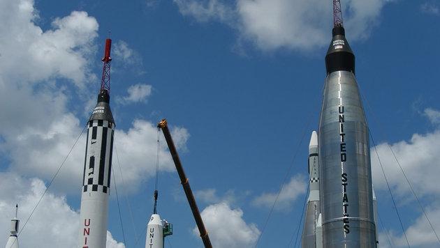 Amerikas Raketen begeistern im Kennedy Space Center nicht nur Technikinteressierten. (Bild: thinkstockphotos.de)