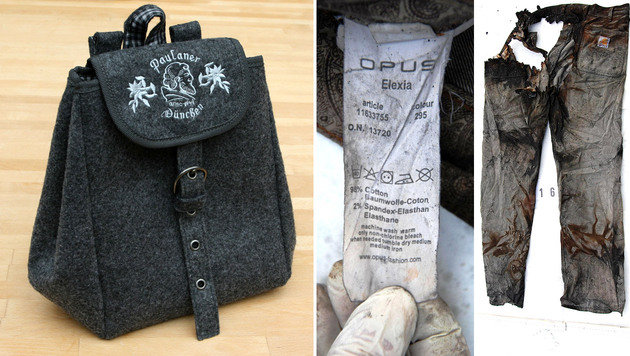Diese Gegenstände wurden am Brandort sichergestellt. Die Polizei bittet um Mithilfe. (Bild: LPD WIEN)