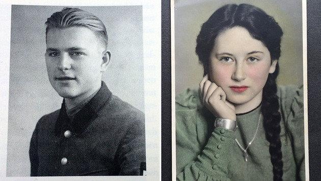 Fritz und Trude im Jahr 1945 (Bild: Erich Schönauer)