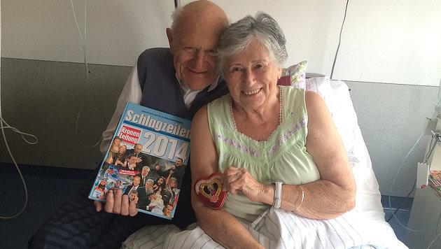 Nach 70 Jahren sind Fritz und Trude wieder vereint. (Bild: Erich Schönauer)