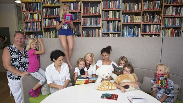Das Glück der Kinder ist für Ingrid Flick der Dank. (Bild: Klemens König Photography)