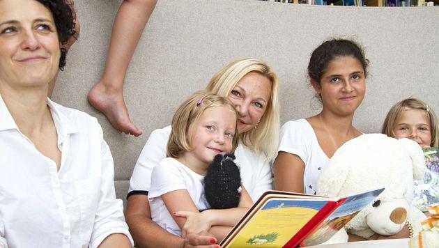 Das Wohlergehen der Kinder im SOS-Kinderdorf Stübing liegt Ingrid Flick am Herzen. (Bild: Klemens König Photography)