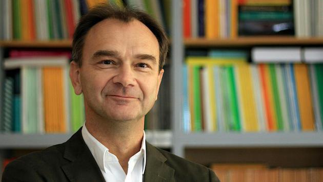 Der Wiener Teilchenphysiker Manfred Krammer (Bild: APA/…AW/THOMAS BERGAUER)