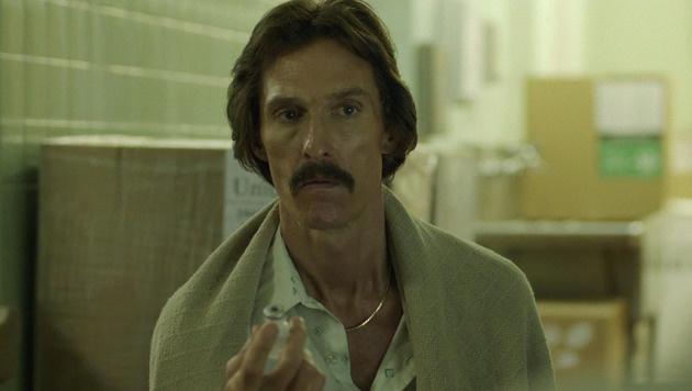 """Für seine Rolle in """"Dallas Buyers Club"""" hungerte sich Matthew McConaughey auf 60 Kilo runter. (Bild: Viennareport)"""