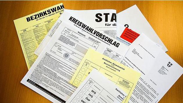 180.000 Wienerinnen und Wiener werden mittels Wahlkarte abstimmen. (Bild: Stadt Wien)