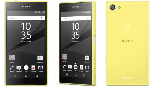 Xperia Z5 Compact: Das kann Sonys neues Top-Handy (Bild: Sony)