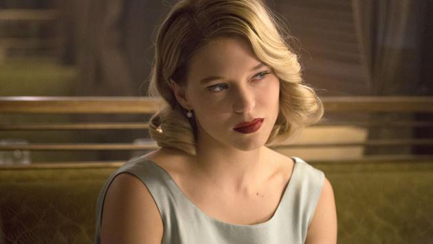 """Léa Seydoux als Bond-Girl in """"Spectre"""" (Bild: Viennareport)"""