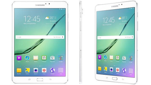 Surfbrett für Lesefreunde: Galaxy Tab S2 im Test (Bild: Samsung)