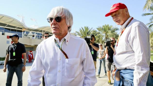 "Lauda über Ecclestone: ""Er zerstört alles!"" (Bild: APA/EPA/SRDJAN SUKI)"