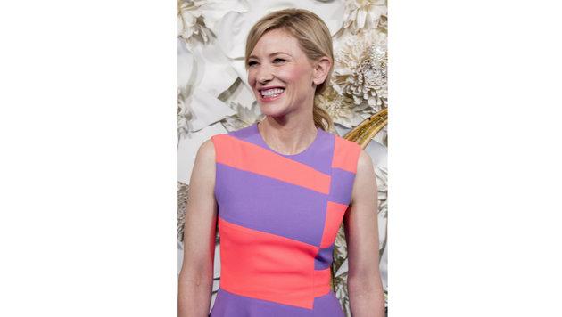Cate Blanchett liebt außergewöhnliche Kleidungsstücke. (Bild: Viennareport)