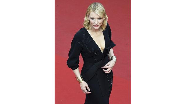 """Cate Blanchett spielte die umjubelte Titelrolle im Historienfilm """"Elizabeth"""" (1999). (Bild: AFP)"""