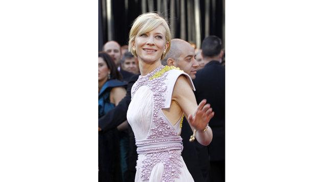 """Cate Blanchett hat verraten: Drunter trage sie """"mega-peinliche Unterwäsche"""". (Bild: AP)"""