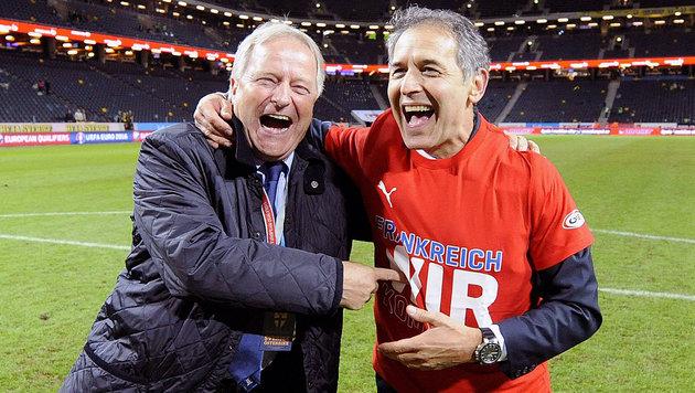ÖFB-Boss Windtner: Sieg gegen Irland keine Pflicht (Bild: APA/ROBERT JAEGER)