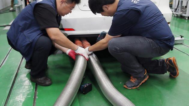 7 Fragen zur VW-Krise: Ist mein Auto weniger wert? (Bild: APA/EPA/YONHAP)