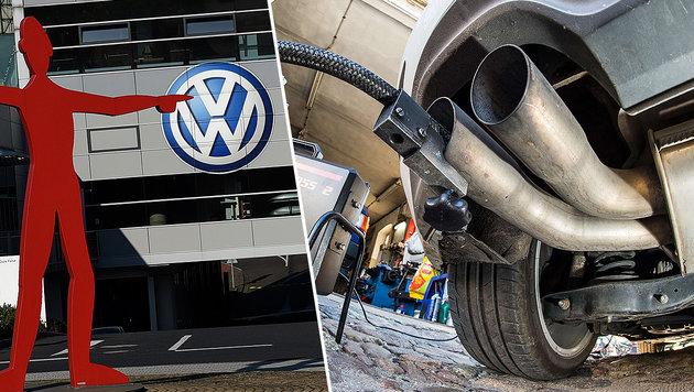 7 Fragen zur VW-Krise: Ist mein Auto weniger wert? (Bild: AFP/PATRIK STOLLARZ, AFP/DPA/PATRICK PLEUL)