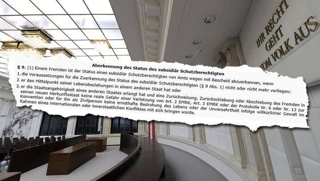 Abschiebung von verurteiltem Asylwerber unmöglich (Bild: APA/HANS KLAUS TECHT, BMI)