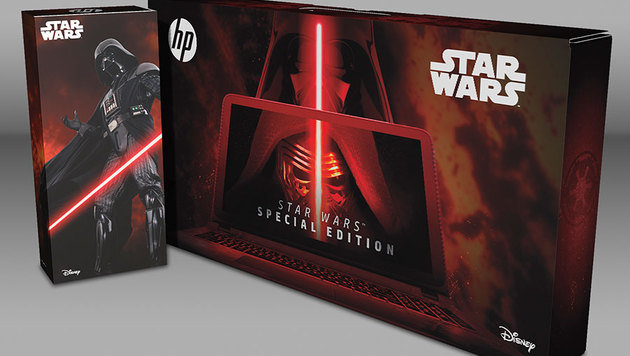 HP bringt Notebook im coolen Star-Wars-Design (Bild: HP)