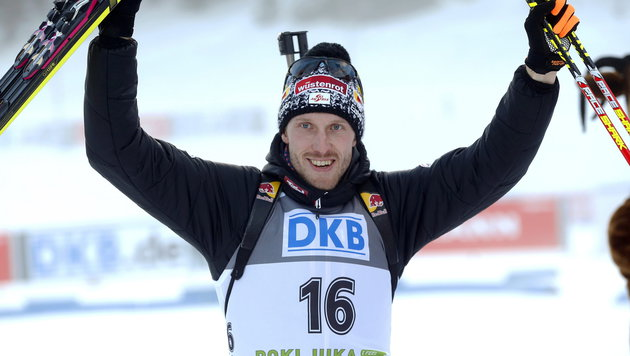 Dominik Landertinger möchte wieder jubeln. (Bild: APA/EPA/ANTONIO BAT)