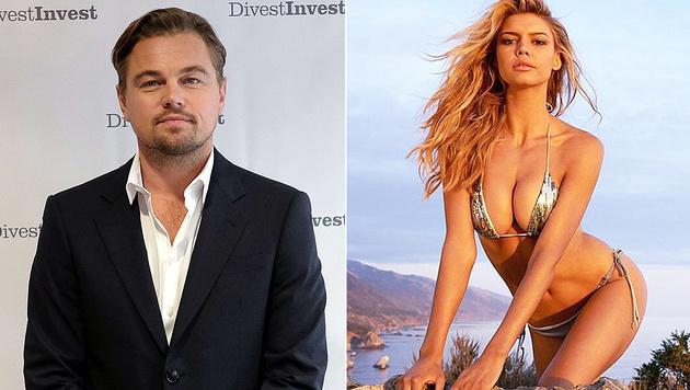 Leonardo DiCaprio hat seiner Freundin Kelly Rohrbach einen Antrag gemacht. (Bild: AFP, instagram.com/kellyrohrbach)