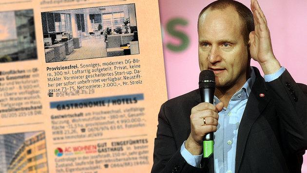 ÖVP-Mitarbeiter schaltet Fake-Inserat zu NEOS-Büro (Bild: APA/HERBERT PFARRHOFER, Der Standard)