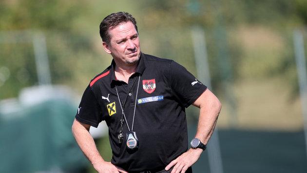 Coach Werner Gregoritsch (Bild: GEPA)