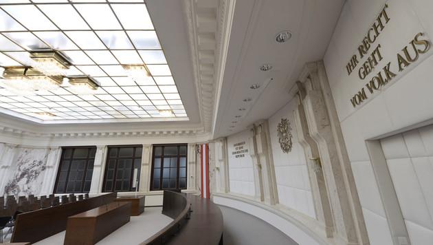 Österreichs Höchstrichter  hoben am 20. Oktober das Urteil in einem Anklagepunkt auf. (Bild: APA/HANS KLAUS TECHT)