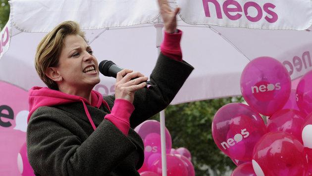 NEOS-Spitzenkandidatin Beate Meinl-Reisinger (Bild: APA/Herbert Pfarrhofer)