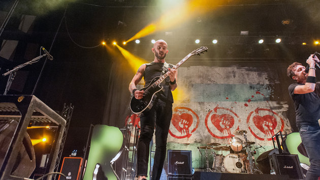 Polit-Punkrock mit Rise Against und Refused (Bild: Andreas Graf)