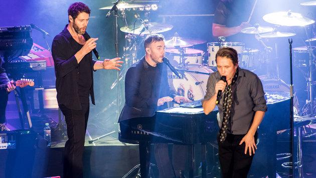 """Take That """"light"""" zu Gast im Wiener Gasometer (Bild: Andreas Graf)"""