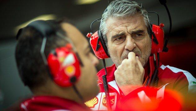 Ferrari-Teamchef Maurizio Arrivabene (Bild: AFP)