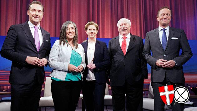 So verbringen die Spitzenkandidaten den Wahltag (Bild: APA/GEORG HOCHMUTH)