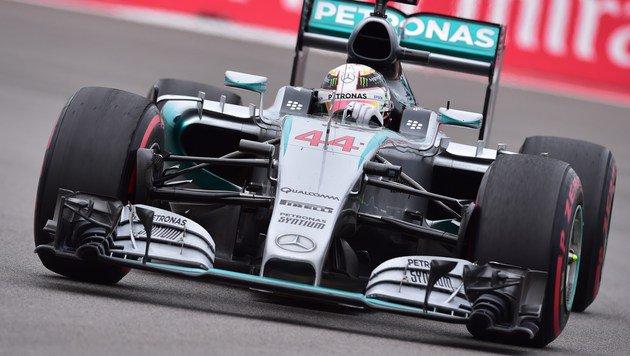 Macht Rosberg Rivale Hamilton zum Weltmeister? (Bild: AFP)