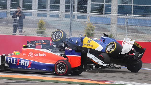 Crash-GP in Sotschi macht Mercedes zum Weltmeister (Bild: GEPA)