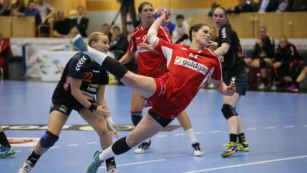 Handball-Damen verlieren gegen Holland (Bild: GEPA)