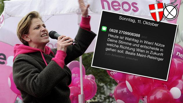 """""""Sauber-Partei"""" sorgt für Aufreger am Wahltag (Bild: APA/HERBERT PFARRHOFER, Maida Dedagic)"""