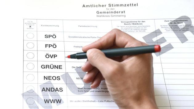 Stimmenchaos im zweiten Bezirk: FPÖ will Neuwahl (Bild: APA/Helmut Fohringer)