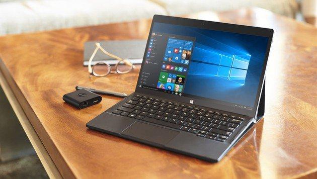 Dell bietet mit dem neuen XPS 12 bald ebenfalls einen Surface-Klon an. (Bild: Dell)