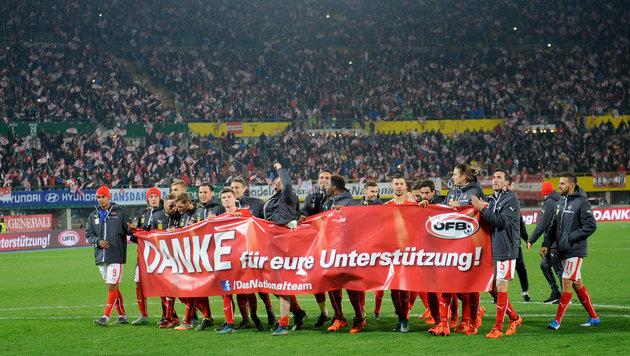 300.000 �sterreich-Fans wollen zur EURO (Bild: APA/ROLAND SCHLAGER)