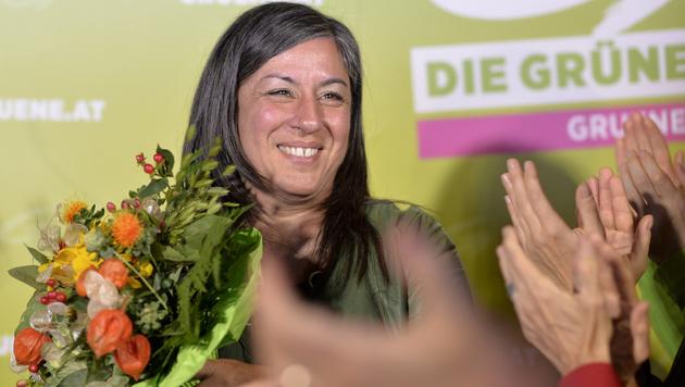Maria Vassilakou (Bild: APA/HERBERT NEUBAUER)