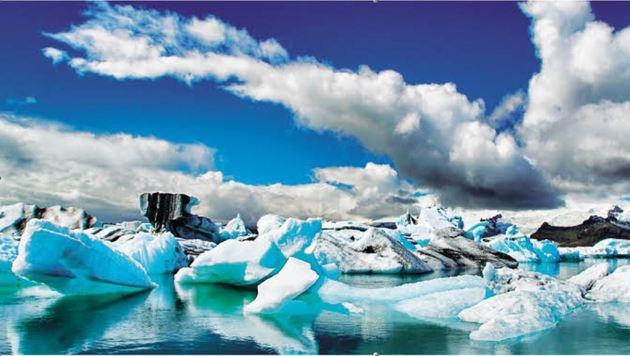 Die fast mystische Gletscherlagune Jökulsárlón (Bild: Fotolia)