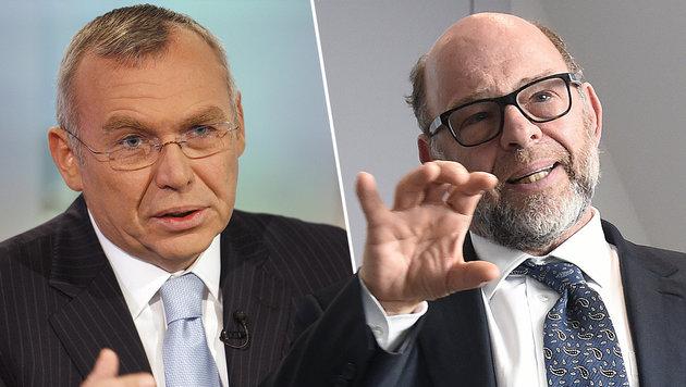 Gusenbauer und Lansky in Hypo-Ausschuss geladen (Bild: ORF/Milenko Badzic, APA/HELMUT FOHRINGER)