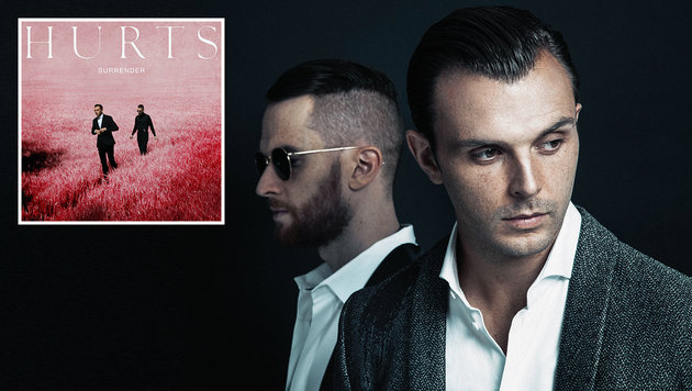 """Hurts: """"Heute genießen wir die Dekadenz"""" (Bild: Sony Music)"""