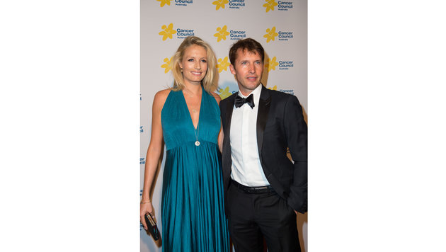 James Blunt mit seiner schwangeren Ehefrau Sofia Wellesley (Bild: BIG/insight media)