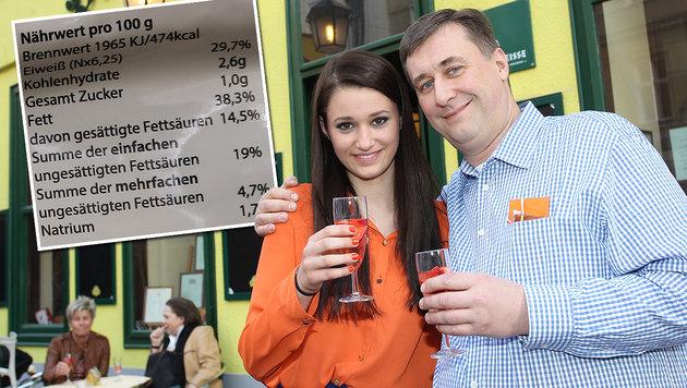 Die Wiener Wirte-Legende Herbert Hausmair mit Tochter Antonia (Bild: Peter Tomschi, Zwefo)