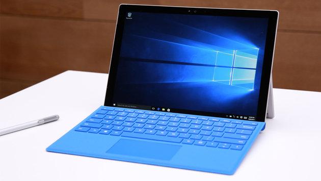 Tablet-Markt wächst nur bei Laptop-Alternativen (Bild: Microsoft)