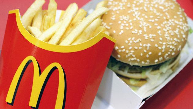 "USA: Bub (8) chauffierte Schwester zu McDonald""s (Bild: JOERG KOCH/AFP/picturedesk.com)"