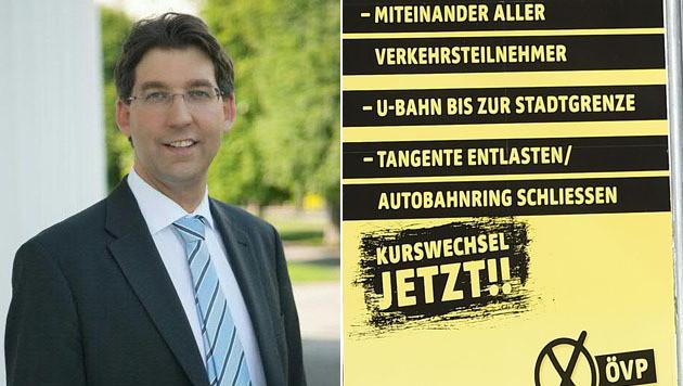 Markus Figl, Großneffe von Ex-Kanzler Leopold Figl, wird neuer City-Bezirksvorsteher. (Bild: APA/ÖVP WIEN/HELMUT FOHRINGER)