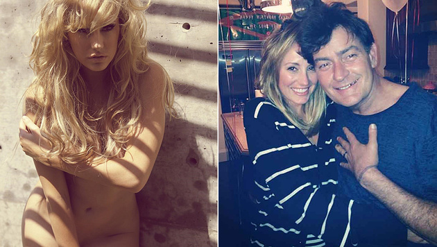 Charlie Sheen war bis Oktober 2014 mit Pornosternchen Brett Rossi liiert. (Bild: instagram.com/imbrettrossi, Viennareport)